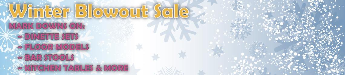 Wayne Dinnette Winter Sale